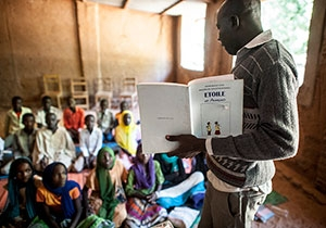 Educate A Child and the UNHCR Work Together to Build a Better Future for Refugee Children in Chad