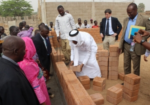 Laying Bricks for the Future with UNICEF Chad