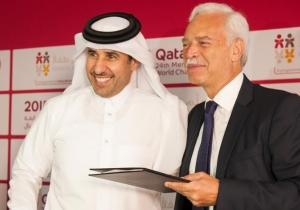Qatar 2015 Proud Supporter of Educate A Child