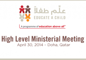 April 30, 2014 – High Level Ministerial Meeting