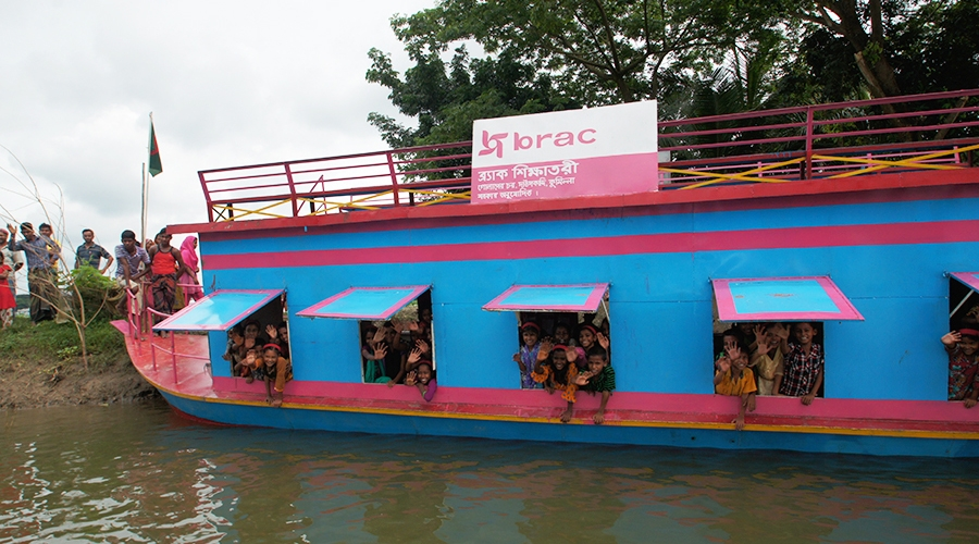 BRAC Floating Boat Schools